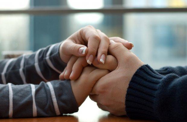 Мужчина и женщина забота