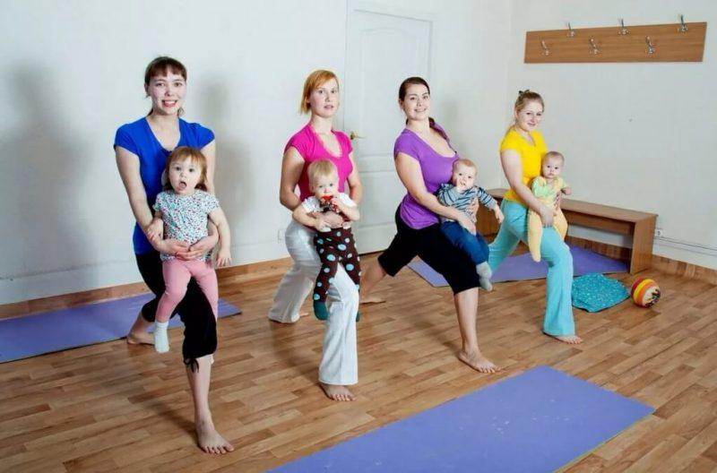 фитнес клуб для женщин с малышами