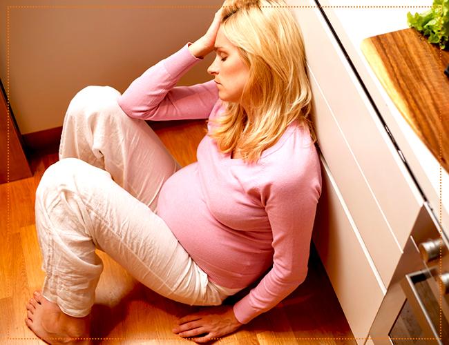 беременность депрессия
