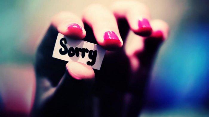 Извинится перед мужем, чтобы наладить отношение в семье
