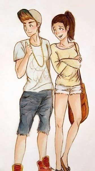 парень с девушкой умеют любить друг друга и не нуждаются в советах психолога