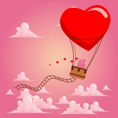 Написать о полете на воздушном шаре, чтобы он захотел вернуться