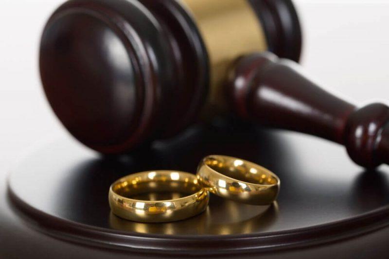 Посредством судебных органов развестись