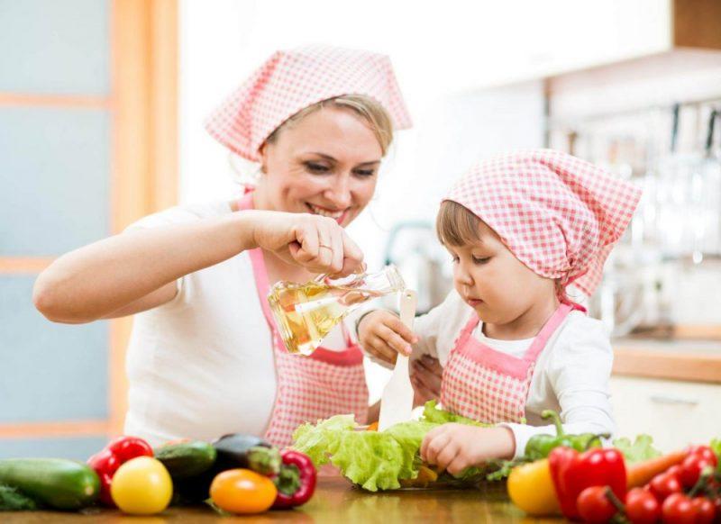 Увлеките приготовлением еды и свое чадо
