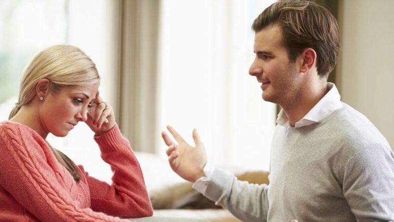 Разговор после ссоры
