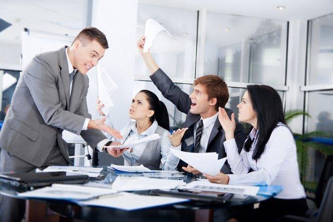 Групповой конфликт на работе