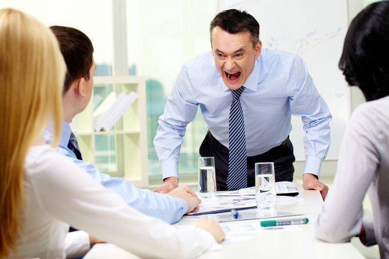Конфликт с начальником на работе