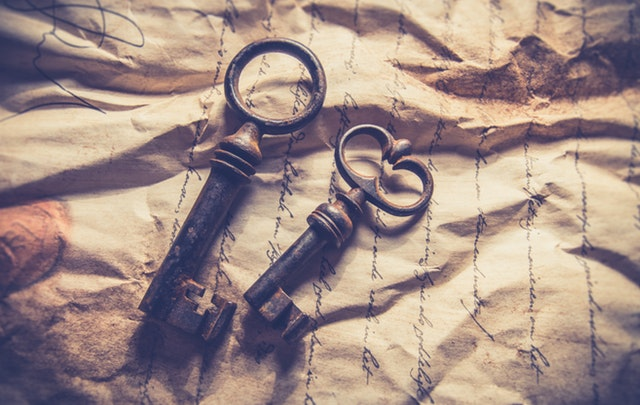 Ключи и письмо